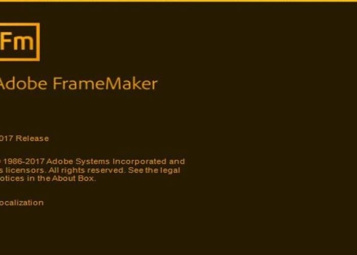 Adobe FrameMaker 2017 Quick Review